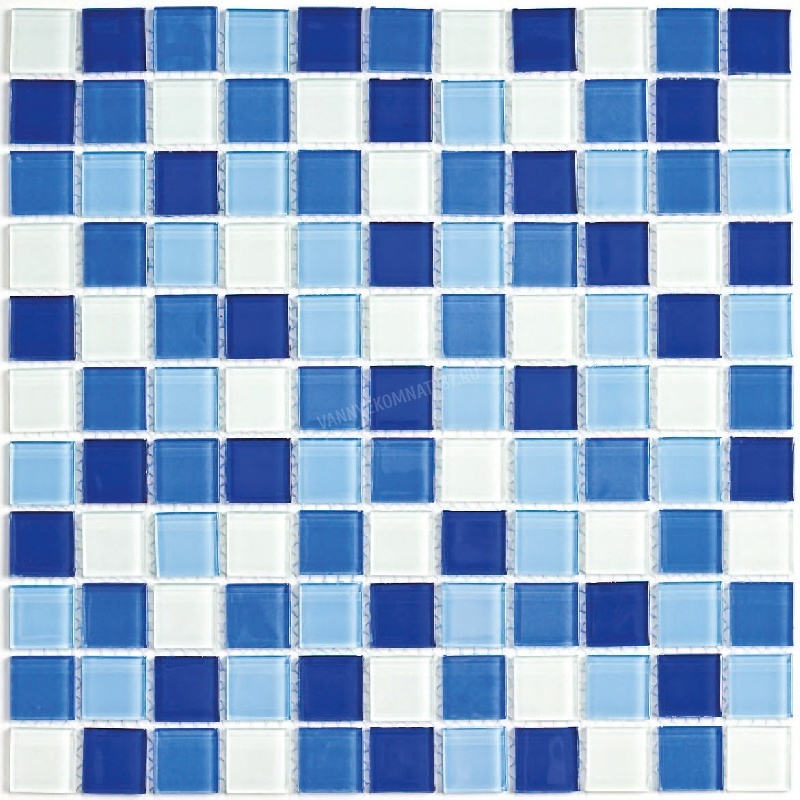 Ceramic glass tile